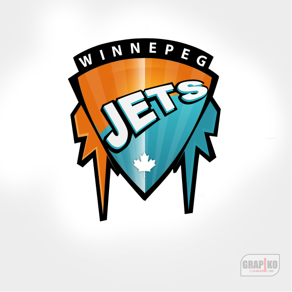Logo Design by carell - Entry No. 151 in the Logo Design Contest Winnipeg Jets Logo Design Contest.