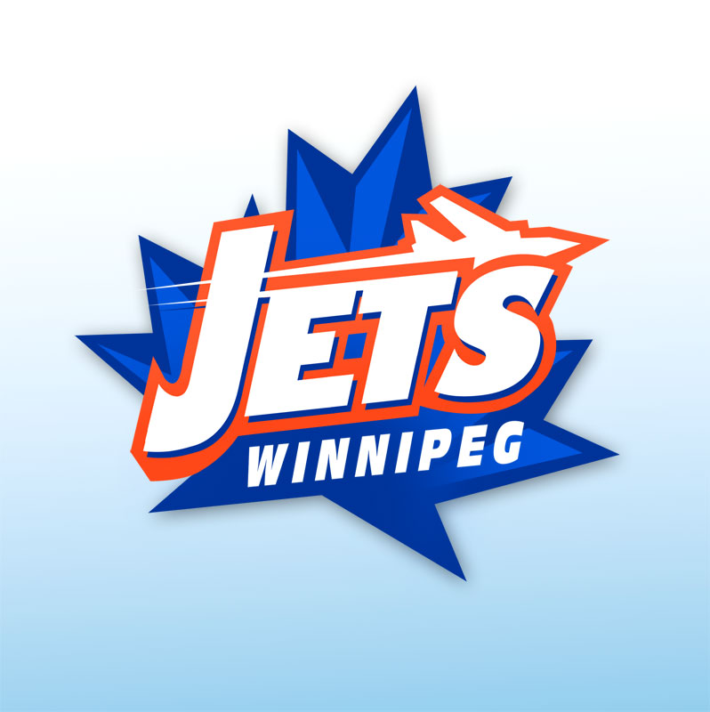 Logo Design by baligraph - Entry No. 152 in the Logo Design Contest Winnipeg Jets Logo Design Contest.