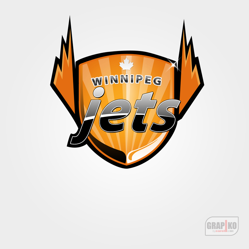 Logo Design by carell - Entry No. 159 in the Logo Design Contest Winnipeg Jets Logo Design Contest.