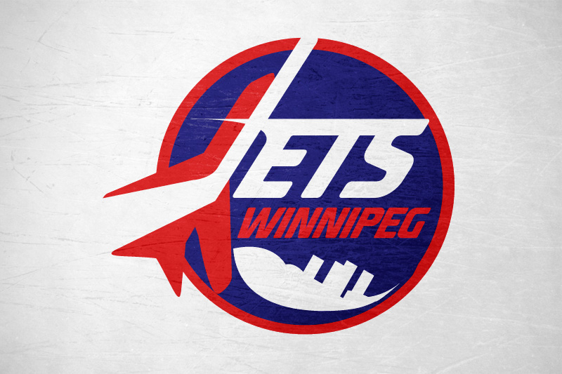 Logo Design by Leigh McDonald - Entry No. 171 in the Logo Design Contest Winnipeg Jets Logo Design Contest.