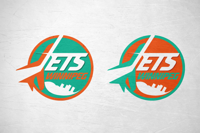 Logo Design by Leigh McDonald - Entry No. 172 in the Logo Design Contest Winnipeg Jets Logo Design Contest.