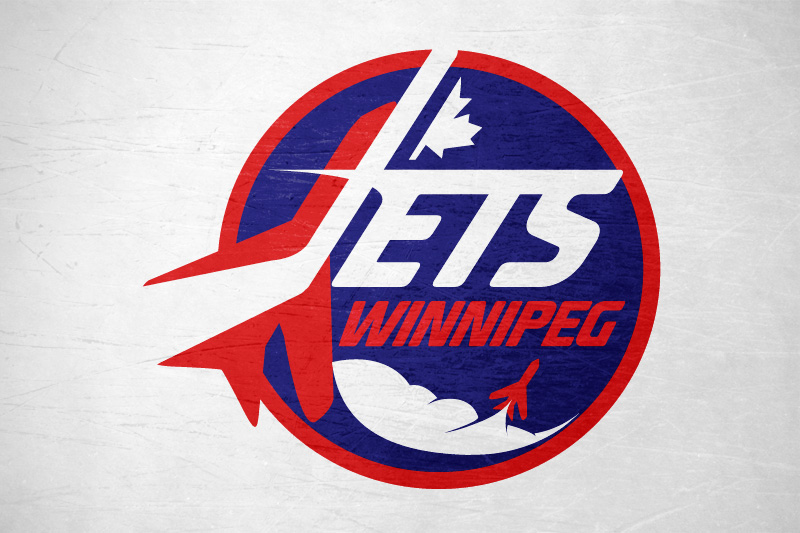 Logo Design by Leigh McDonald - Entry No. 181 in the Logo Design Contest Winnipeg Jets Logo Design Contest.