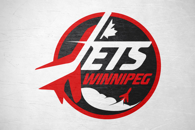 Logo Design by Leigh McDonald - Entry No. 182 in the Logo Design Contest Winnipeg Jets Logo Design Contest.