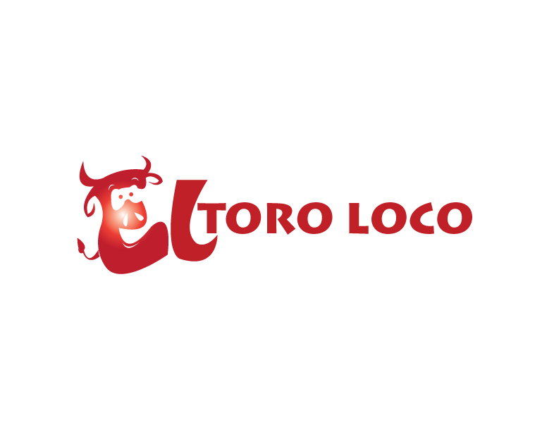 Logo Design by stormbighit - Entry No. 33 in the Logo Design Contest EL TORO LOCO.