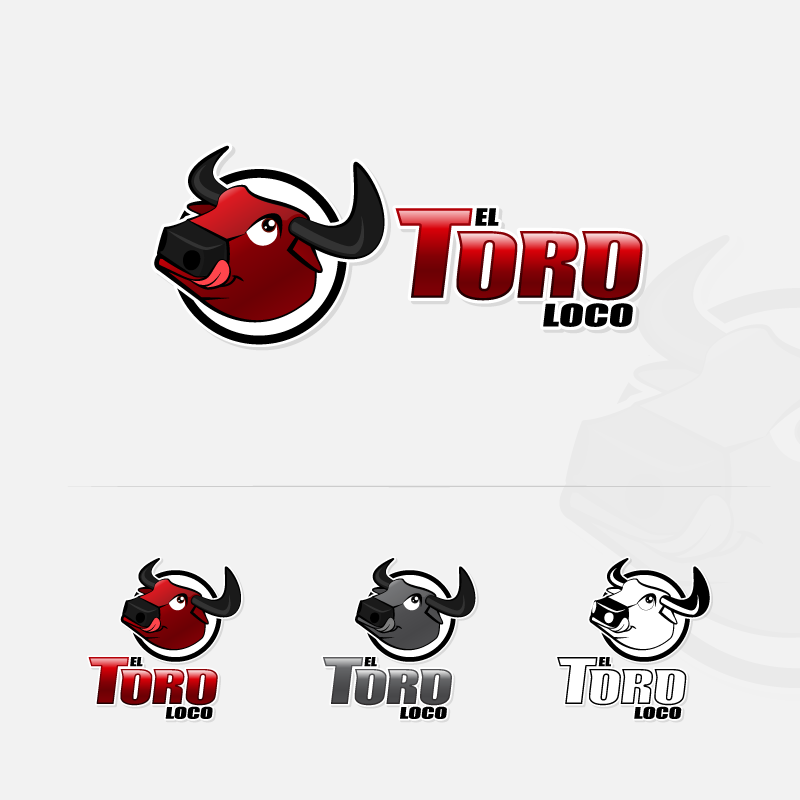 Logo Design by zesthar - Entry No. 45 in the Logo Design Contest EL TORO LOCO.