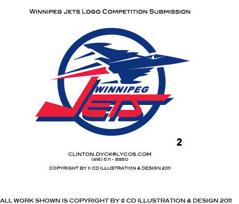 Logo Design by Private User - Entry No. 199 in the Logo Design Contest Winnipeg Jets Logo Design Contest.