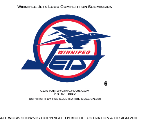 Logo Design by Private User - Entry No. 203 in the Logo Design Contest Winnipeg Jets Logo Design Contest.