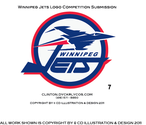 Logo Design by Private User - Entry No. 204 in the Logo Design Contest Winnipeg Jets Logo Design Contest.