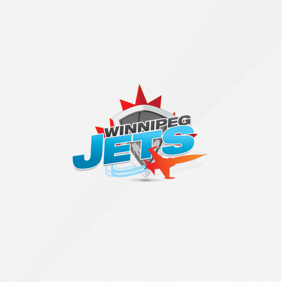 Logo Design by rockpinoy - Entry No. 206 in the Logo Design Contest Winnipeg Jets Logo Design Contest.