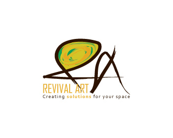 Logo Design by EdEnd - Entry No. 79 in the Logo Design Contest Revival Art.