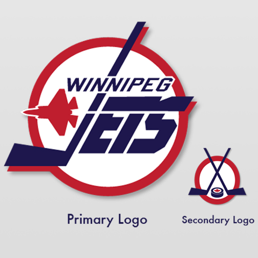 Logo Design by adamhill1984 - Entry No. 229 in the Logo Design Contest Winnipeg Jets Logo Design Contest.