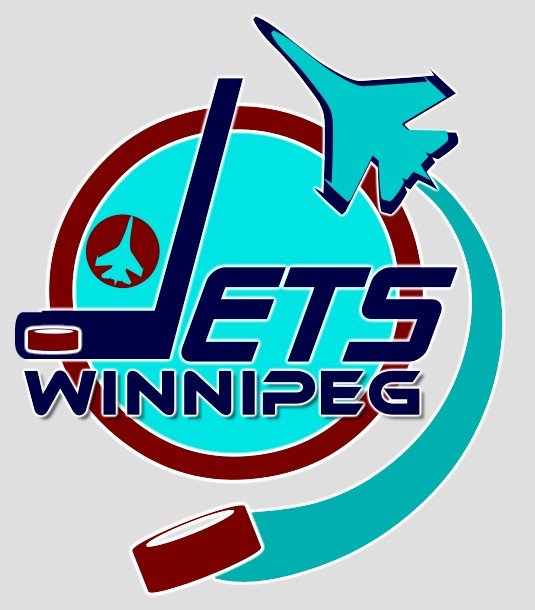 Logo Design by Pokerben - Entry No. 234 in the Logo Design Contest Winnipeg Jets Logo Design Contest.