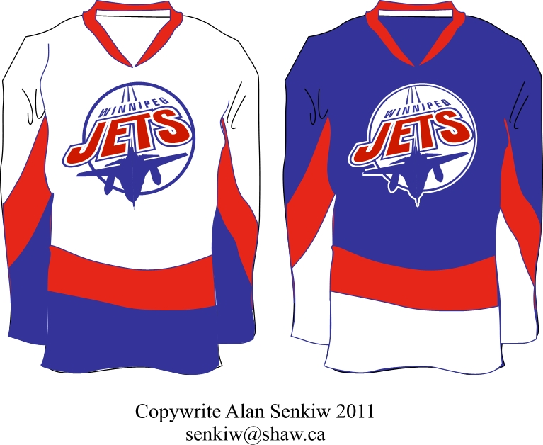 Logo Design by Alan-Senkiw - Entry No. 238 in the Logo Design Contest Winnipeg Jets Logo Design Contest.
