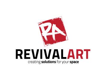 Logo Design by Desine_Guy - Entry No. 85 in the Logo Design Contest Revival Art.