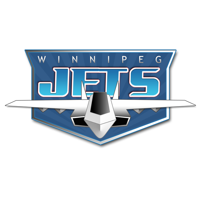Logo Design by becon - Entry No. 241 in the Logo Design Contest Winnipeg Jets Logo Design Contest.