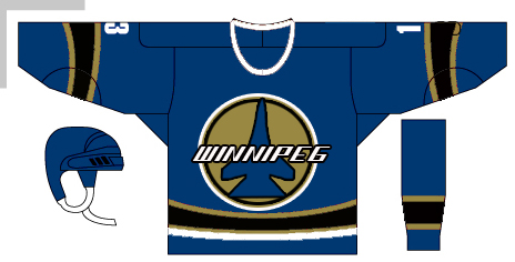 Logo Design by jonnyp72 - Entry No. 243 in the Logo Design Contest Winnipeg Jets Logo Design Contest.