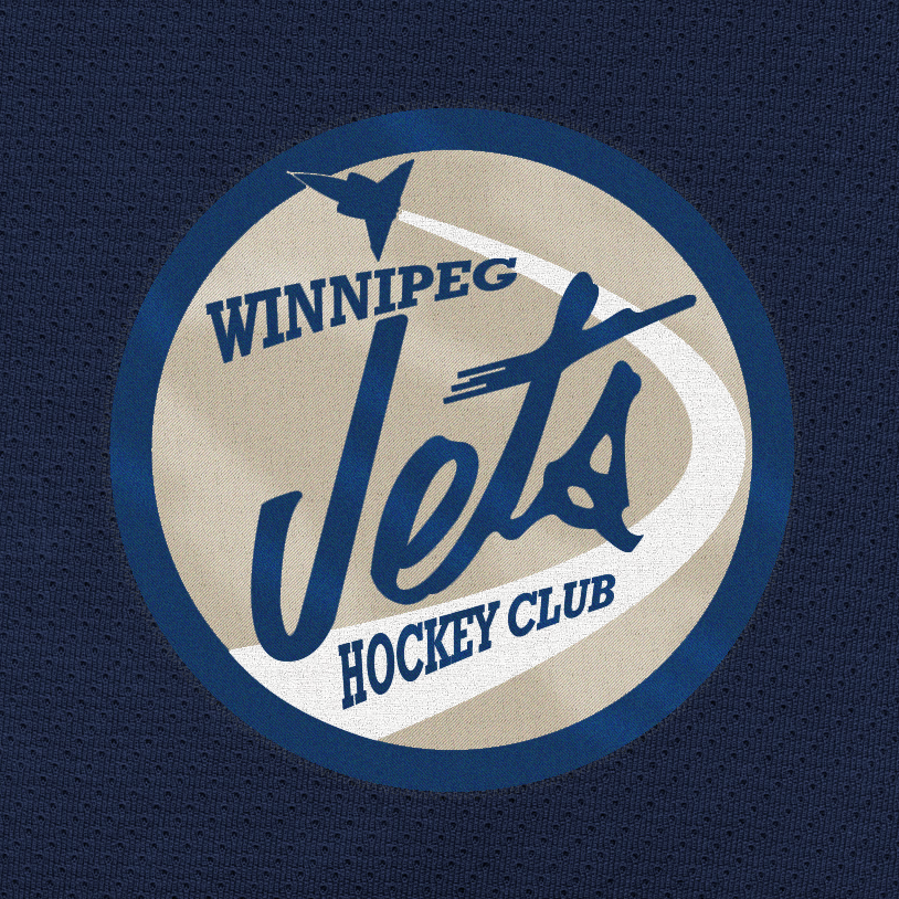 Logo Design by deadtrends - Entry No. 244 in the Logo Design Contest Winnipeg Jets Logo Design Contest.