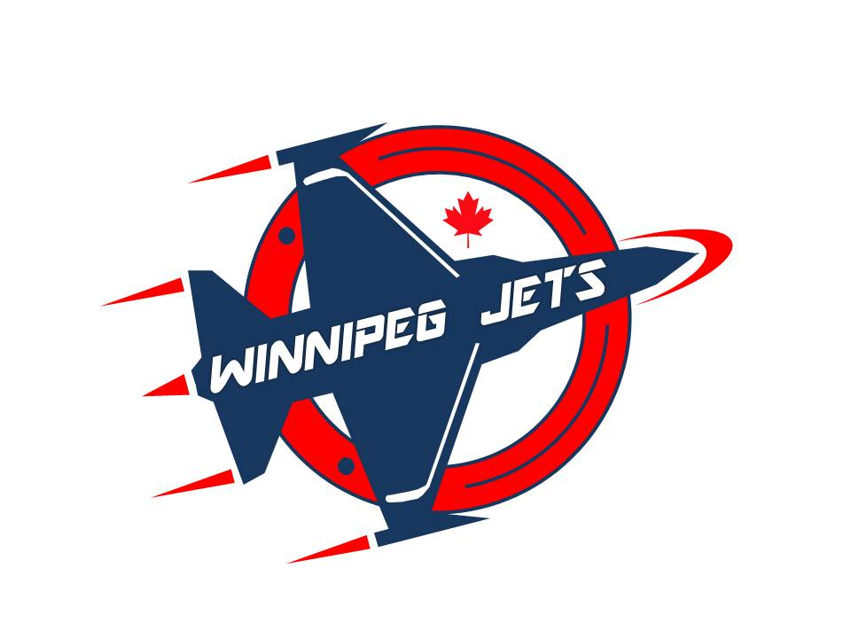Logo Design by Jason13 - Entry No. 252 in the Logo Design Contest Winnipeg Jets Logo Design Contest.