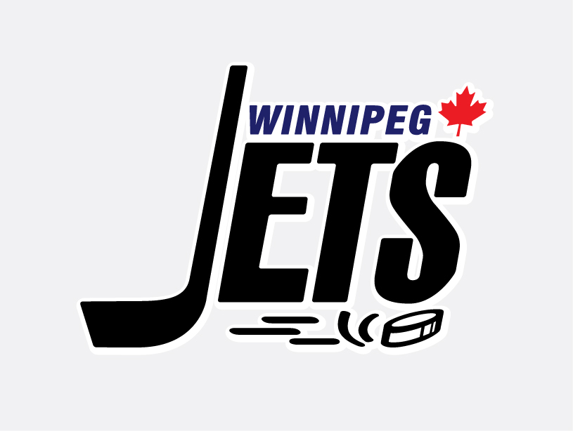 Logo Design by florianfernandez - Entry No. 258 in the Logo Design Contest Winnipeg Jets Logo Design Contest.