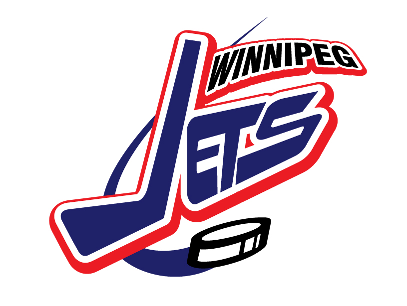 Logo Design by ianfernandez - Entry No. 265 in the Logo Design Contest Winnipeg Jets Logo Design Contest.
