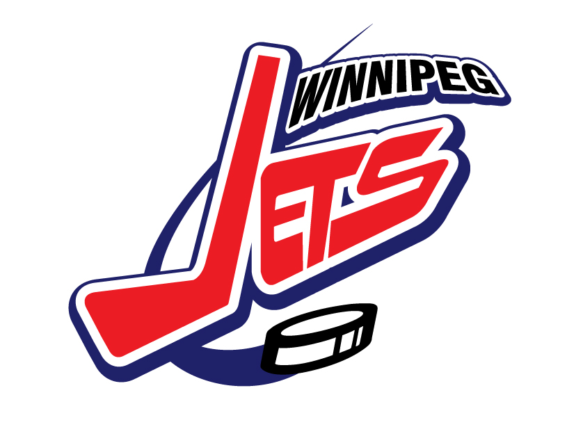 Logo Design by ianfernandez - Entry No. 266 in the Logo Design Contest Winnipeg Jets Logo Design Contest.