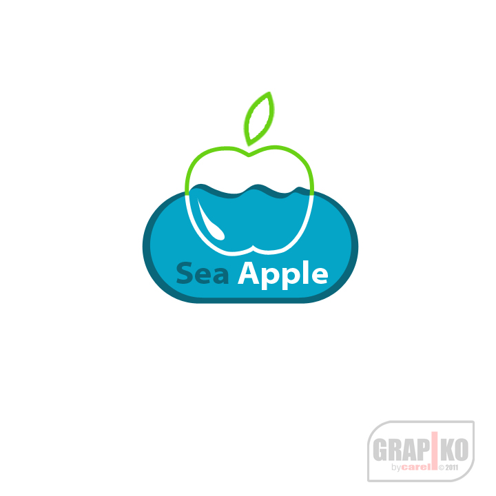 Logo Design by carell - Entry No. 12 in the Logo Design Contest Sea Apple logo.