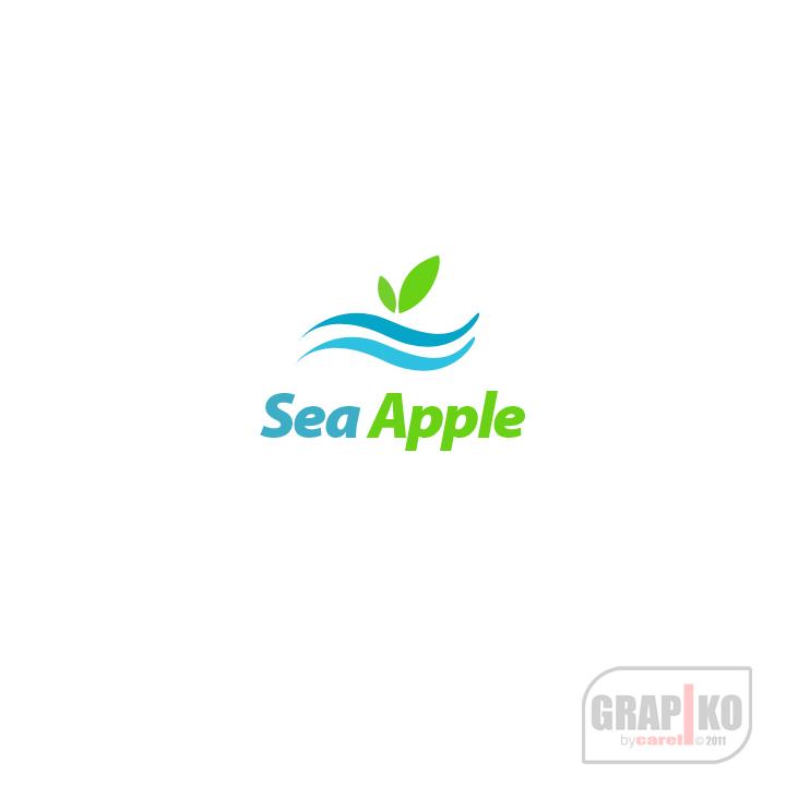 Logo Design by carell - Entry No. 14 in the Logo Design Contest Sea Apple logo.