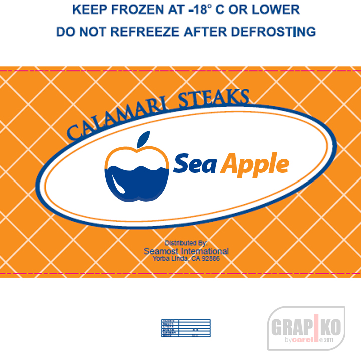 Logo Design by carell - Entry No. 16 in the Logo Design Contest Sea Apple logo.