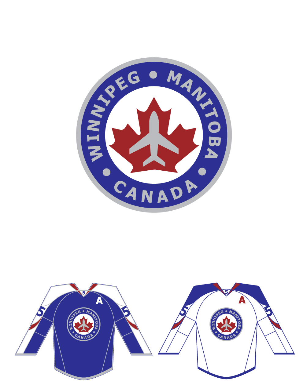 Logo Design by Columbia - Entry No. 268 in the Logo Design Contest Winnipeg Jets Logo Design Contest.
