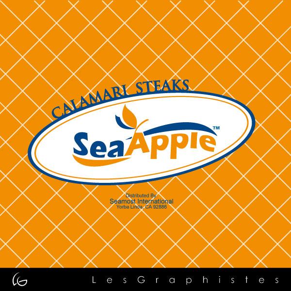 Logo Design by Les-Graphistes - Entry No. 28 in the Logo Design Contest Sea Apple logo.