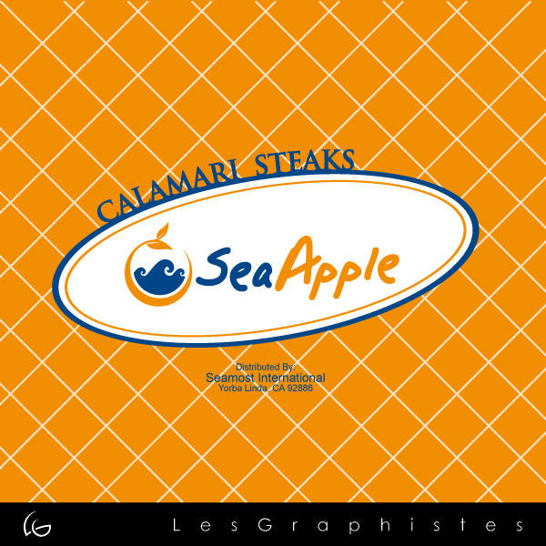 Logo Design by Les-Graphistes - Entry No. 29 in the Logo Design Contest Sea Apple logo.