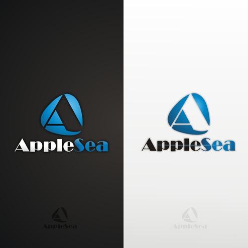 Logo Design by lestari17 - Entry No. 30 in the Logo Design Contest Sea Apple logo.