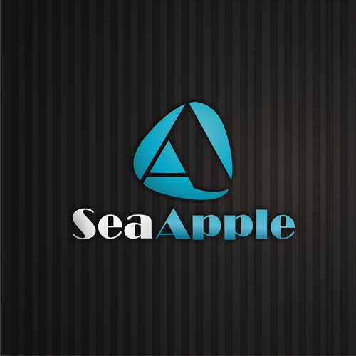 Logo Design by lestari17 - Entry No. 40 in the Logo Design Contest Sea Apple logo.