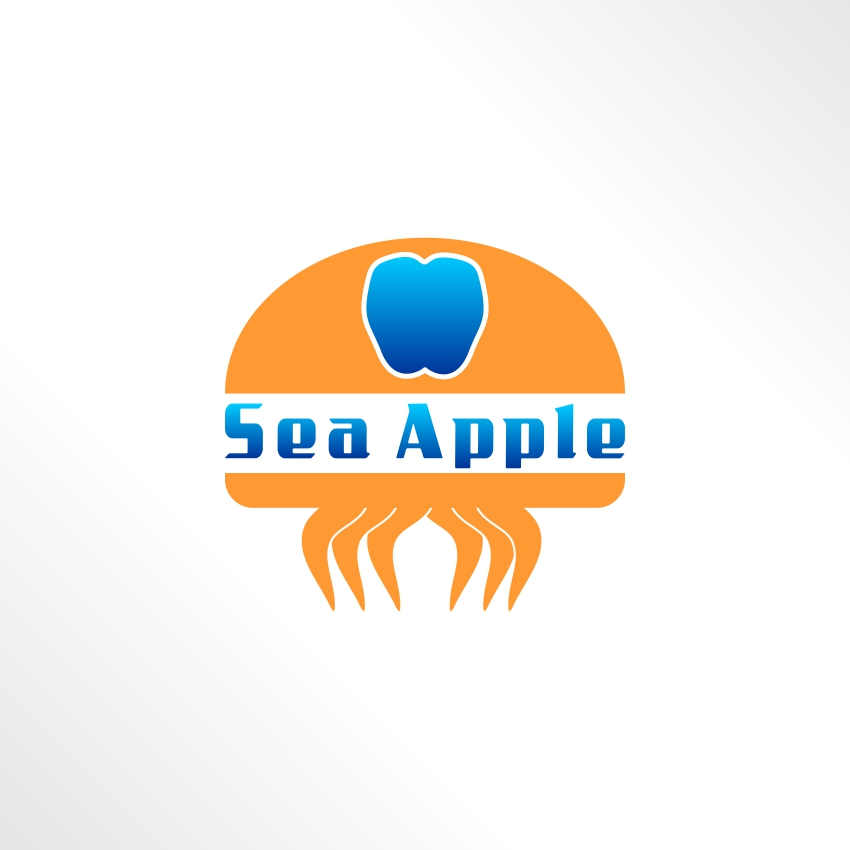 Logo Design by martinz - Entry No. 49 in the Logo Design Contest Sea Apple logo.