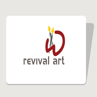 Logo Design by aeonit - Entry No. 99 in the Logo Design Contest Revival Art.
