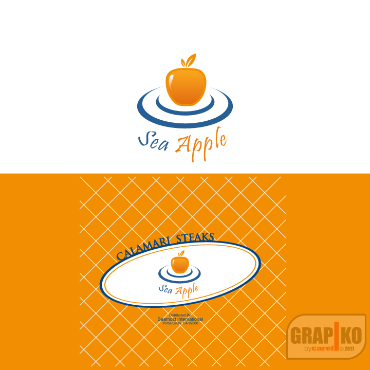 Logo Design by carell - Entry No. 55 in the Logo Design Contest Sea Apple logo.