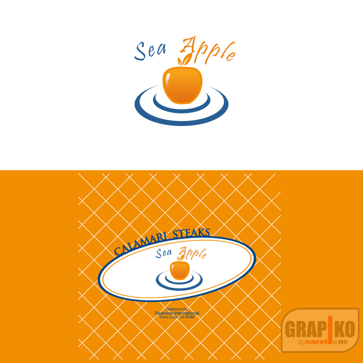 Logo Design by carell - Entry No. 56 in the Logo Design Contest Sea Apple logo.