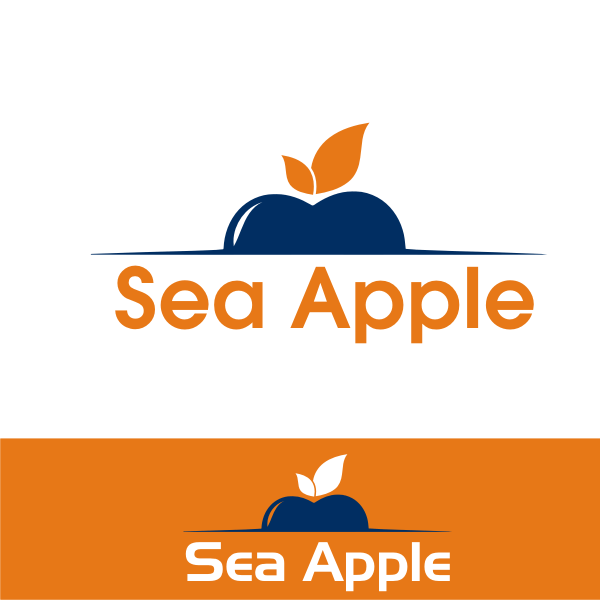 Logo Design by kirmis - Entry No. 65 in the Logo Design Contest Sea Apple logo.