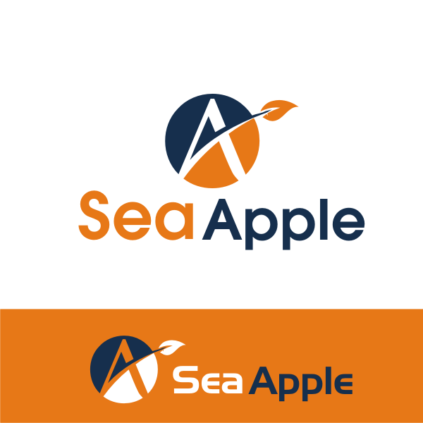 Logo Design by kirmis - Entry No. 66 in the Logo Design Contest Sea Apple logo.