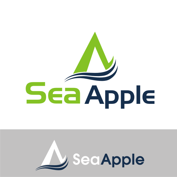 Logo Design by kirmis - Entry No. 67 in the Logo Design Contest Sea Apple logo.