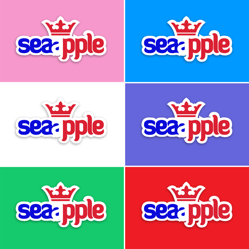 Logo Design by baligraph - Entry No. 68 in the Logo Design Contest Sea Apple logo.
