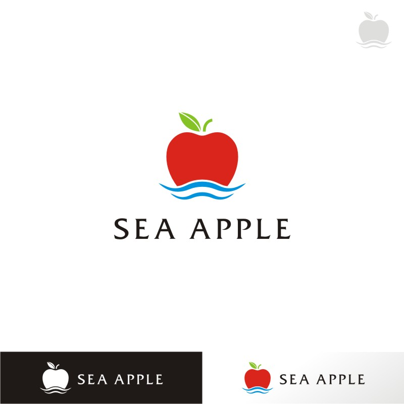 Logo Design by Private User - Entry No. 75 in the Logo Design Contest Sea Apple logo.