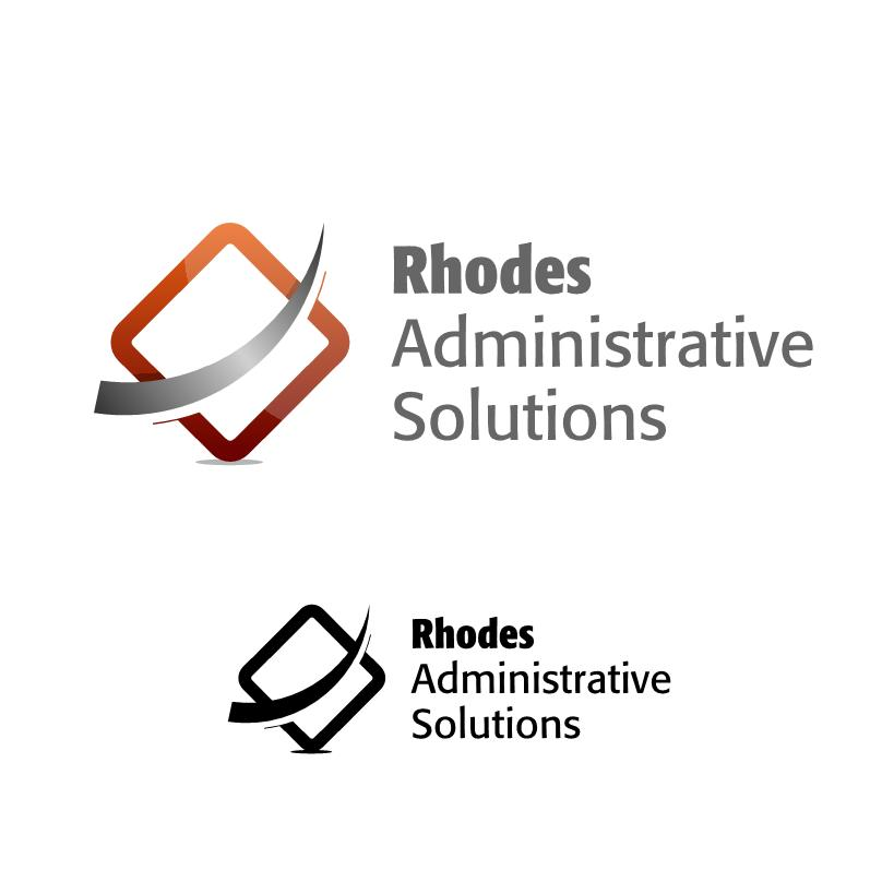 Logo Design by luvrenz - Entry No. 11 in the Logo Design Contest Rhodes Administrative Solutions.