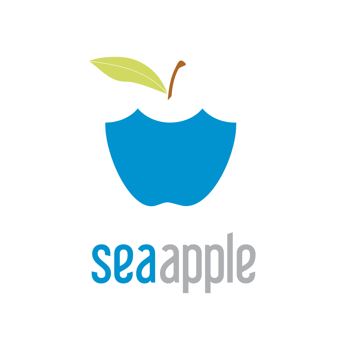 Logo Design by whitneyholland - Entry No. 87 in the Logo Design Contest Sea Apple logo.