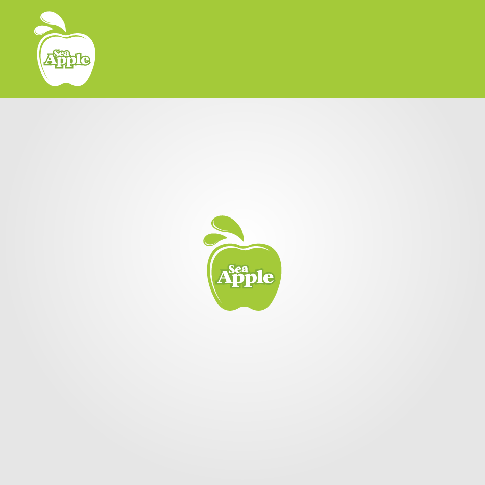 Logo Design by GraySource - Entry No. 94 in the Logo Design Contest Sea Apple logo.