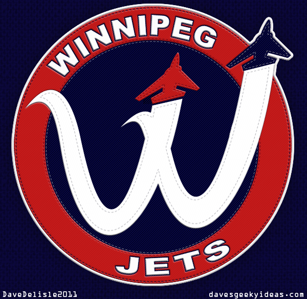 Logo Design by davesgeekyideas - Entry No. 286 in the Logo Design Contest Winnipeg Jets Logo Design Contest.