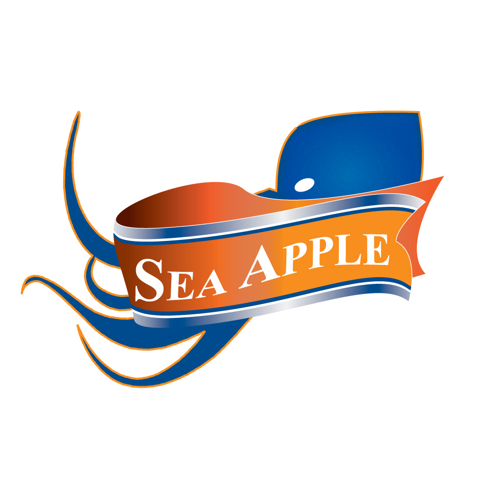 Logo Design by keekee360 - Entry No. 104 in the Logo Design Contest Sea Apple logo.