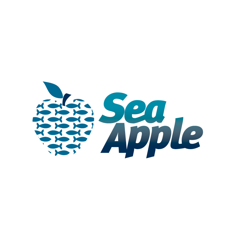 Logo Design by raylenej - Entry No. 113 in the Logo Design Contest Sea Apple logo.