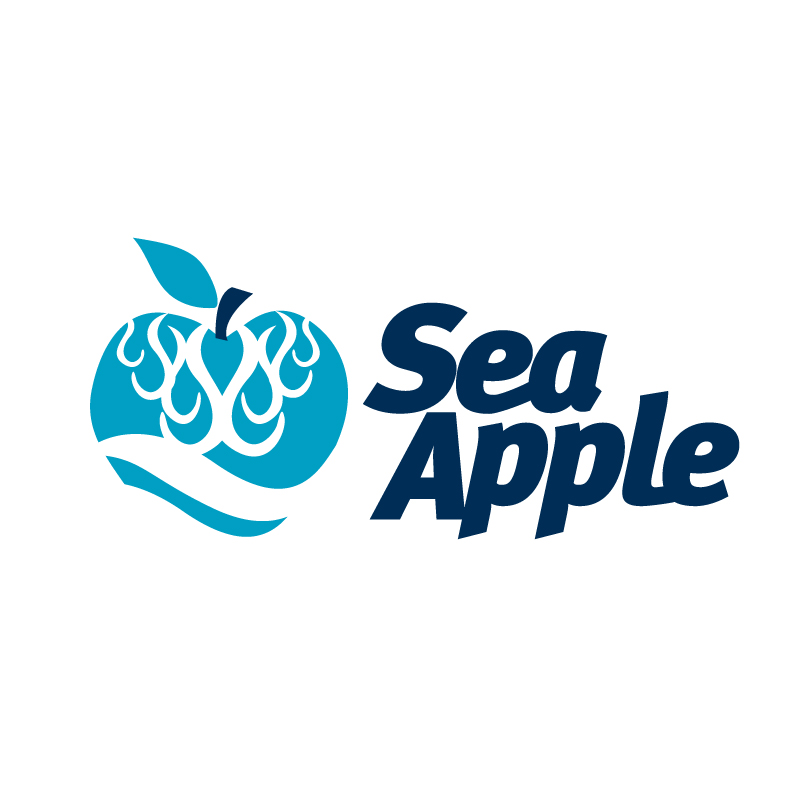 Logo Design by raylenej - Entry No. 114 in the Logo Design Contest Sea Apple logo.