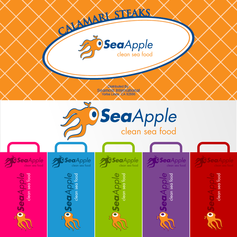 Logo Design by EmLiam - Entry No. 118 in the Logo Design Contest Sea Apple logo.